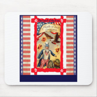 Firecrackers and fun mouse pad