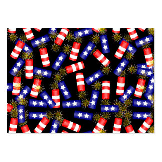 Firecrackers for the 4th of July Large Business Cards (Pack Of 100)