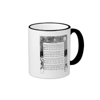 Firecrackers on the Fourth Song Mug