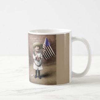 Firecrackers Vintage Coffee Mug