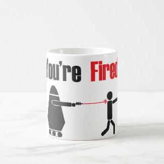 Fired. Coffee Mug