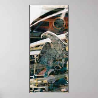 Fired Eagle 1 Print