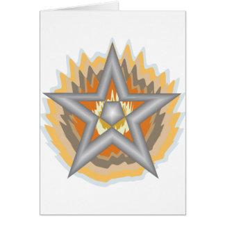 FIRED STAR CARD