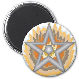 FIRED STAR MAGNET