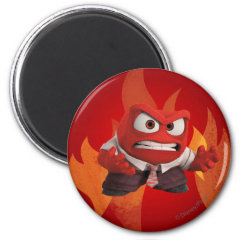 FIRED UP! 2 INCH ROUND MAGNET