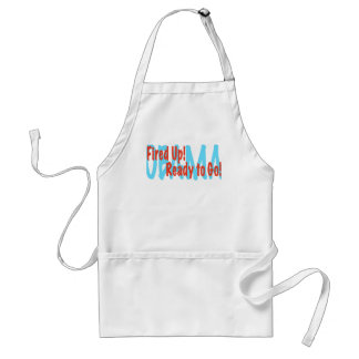 Fired Up Adult Apron