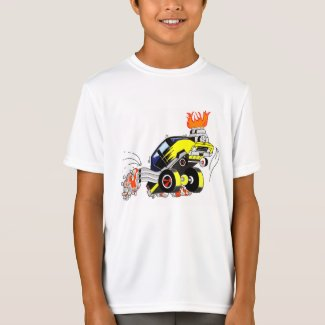 Fired Up Dragster T shirt