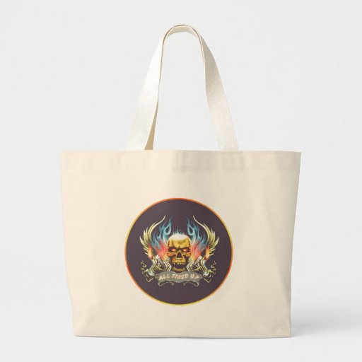 fired up large tote bag