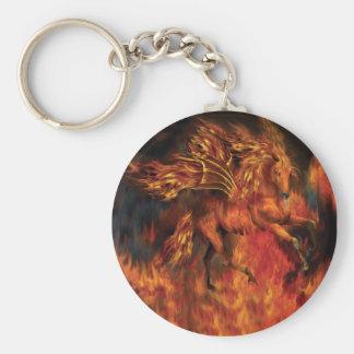 FireDancer Art Keychain
