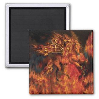 FireDancer Art Magnet