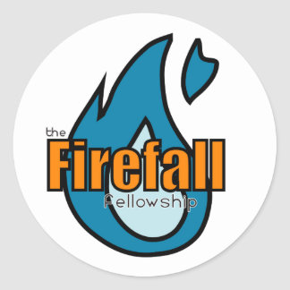 Firefall Blue Sticker