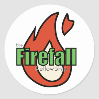 Firefall Red Sticker