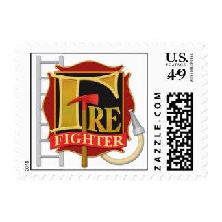 """Firefigher"" Postage"