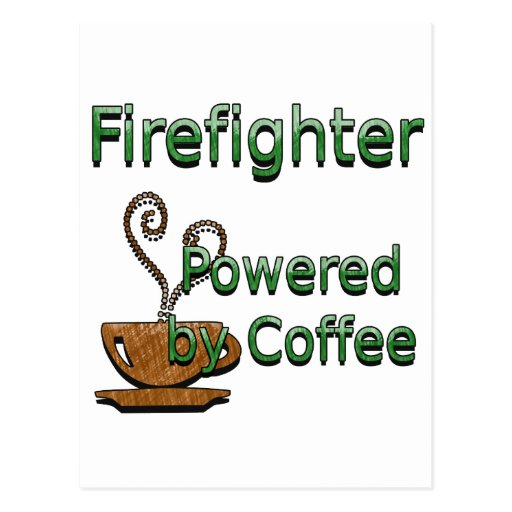 Firefighte accionó por el café postal