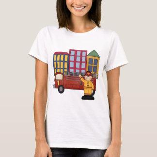 Firefighter 1st Birthday T-Shirt