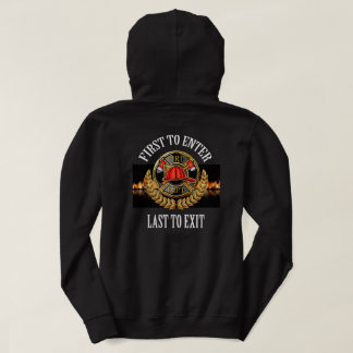 Firefighter 2 See Both Sides Hoodie