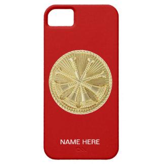 Firefighter 4 Bugle Gold Medallion iPhone SE/5/5s Case