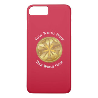 Firefighter 5 Bugle Chiefs Gold Medallion iPhone 7 Plus Case