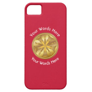 Firefighter 5 Bugle Chiefs Gold Medallion iPhone SE/5/5s Case