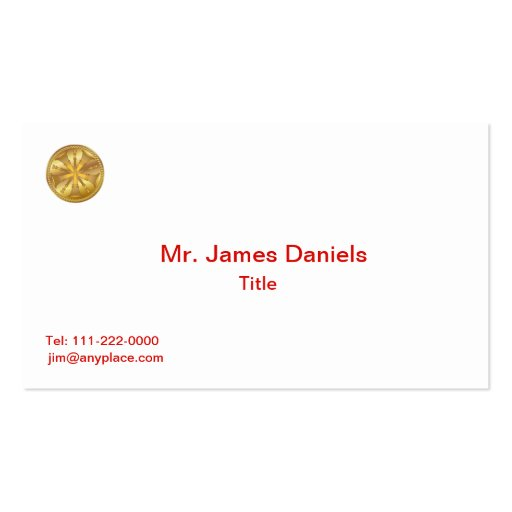 Fire chief business card templates bizcardstudio firefighter 5 bugle gold medallion business cards colourmoves
