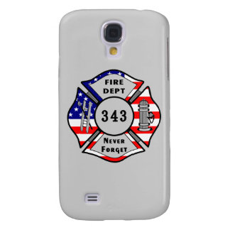 Firefighter 9/11 Never Forget 343 Galaxy S4 Cover
