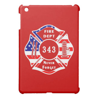 Firefighter 9/11 Never Forget 343 iPad Mini Covers