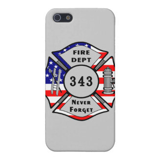Firefighter 9/11 Never Forget 343 iPhone 5 Cases