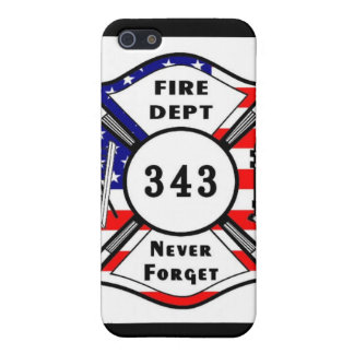 Firefighter 9/11 Never Forget 343 iPhone 5 Cover