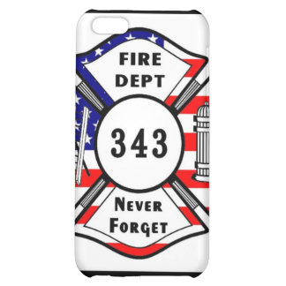 Firefighter 9/11 Never Forget 343 Case For iPhone 5C