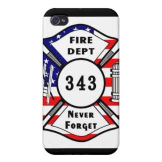 Firefighter 9/11 Never Forget 343 iPhone 4 Case