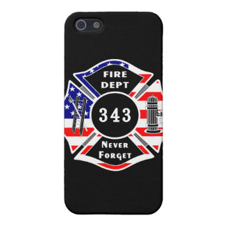 Firefighter 9/11 Never Forget 343 iPhone SE/5/5s Cover