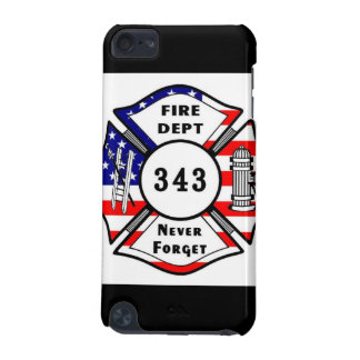 Firefighter 9/11 Never Forget 343 iPod Touch 5G Cover