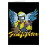 Firefighter Angel Greeting Cards