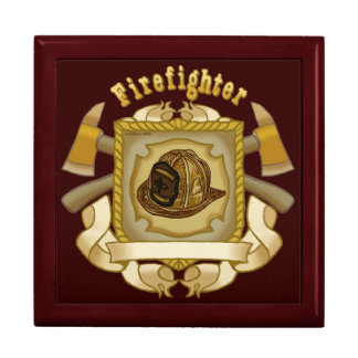 Firefighter Axe Shield Gift Box
