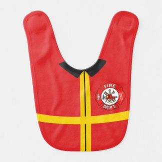 Firefighter Baby Bib (1)
