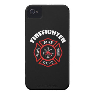 Firefighter Badge iPhone 4 Covers