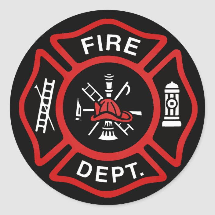 Fire Chief First Haircut certificates w//Fire Badge Stickers 10 Pack