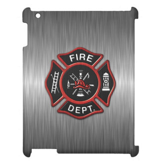Firefighter Badge Deluxe Case For The iPad
