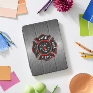 Firefighter Badge Deluxe iPad Pro Cover