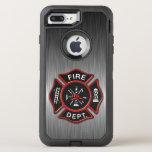 Firefighter Badge Deluxe OtterBox Defender iPhone 8 Plus/7 Plus Case