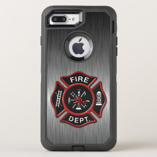Firefighter Badge Deluxe OtterBox Defender iPhone 8 Plus/7 Plus Case