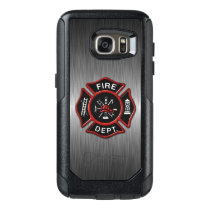Firefighter Badge Deluxe OtterBox Samsung Galaxy S7 Case