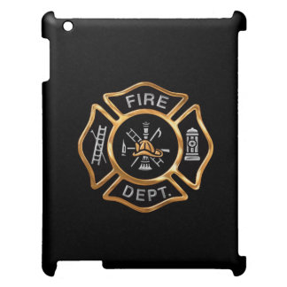 Firefighter Badge Gold Case For The iPad