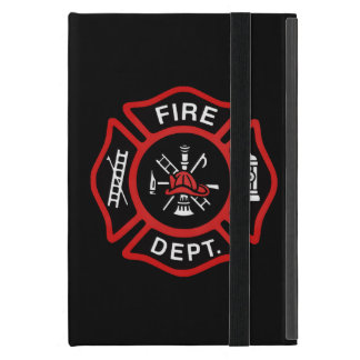 Firefighter Badge Cover For iPad Mini