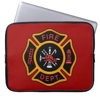 Firefighter Badge Laptop Sleeve