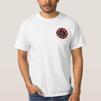 Firefighter Badge T Shirt