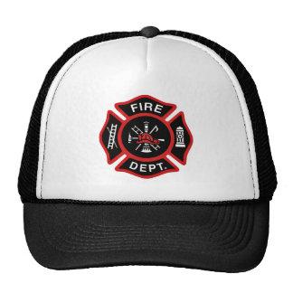 Firefighter Badge Trucker Hat