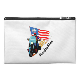 Firefighter Bikers Travel Accessory Bags