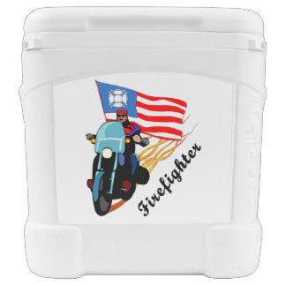 Firefighter Bikers Cooler