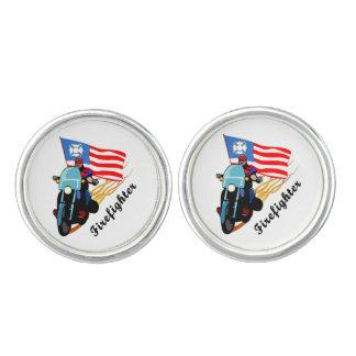 Firefighter Bikers Cufflinks